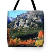 Bear Lake Road In Autumn Tote Bag