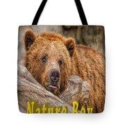 Bear Nature Boy Tote Bag