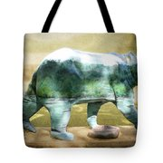 Bear On The Little Tennessee River Tote Bag