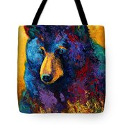 Bear Pause - Black Bear Tote Bag