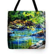 Bear Paw Stream Tote Bag