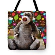 Bear Playtime Tote Bag