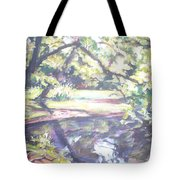 Bear Pond Tote Bag