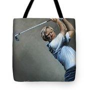 Bear Print Tote Bag