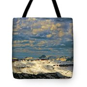 Bear Tooth Mountain Range Tote Bag