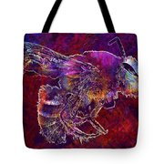 Bearded Bee Macro Insect Nature  Tote Bag