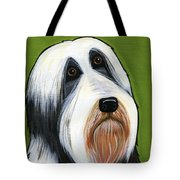 Bearded Collie Tote Bag by Leanne Wilkes