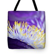 Bearded Iris Macro Tote Bag