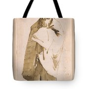 Bearded Oriental In Turban And Cloak Tote Bag