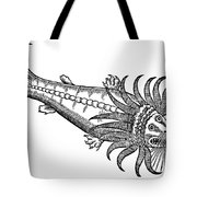 Bearded Whale Tote Bag