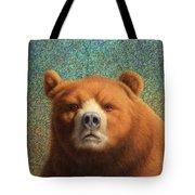 Bearish Tote Bag by James W Johnson