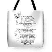 Bearly Home Tote Bag