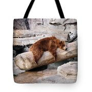 Bearly Relaxing Tote Bag