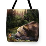Bear's Eye View Tote Bag
