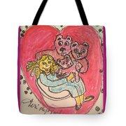 Bear's Love's Hugs Tote Bag