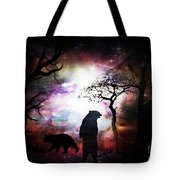 Bears Night Out Tote Bag