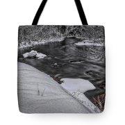 Bearskin Creek Riffles Tote Bag