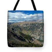 Beartooth Mountain Vista Tote Bag