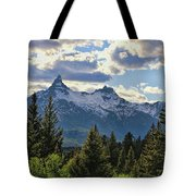 Beartooth Mountains In Spring Tote Bag