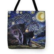 Beary Starry Nights Too Tote Bag