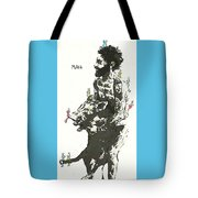 Beastly Birds And The Feral Swine Hunter Tote Bag