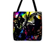 Beat Of The Street Tote Bag