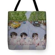 Beatles Abbey Road .... Babies Tote Bag
