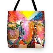Beatles Abbey Road  Tote Bag