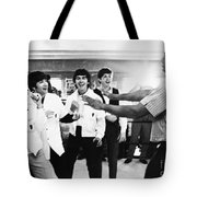 Beatles And Clay, 1964 Tote Bag by Granger