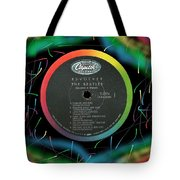 Beatles Revolver Rainbow Lp Label Tote Bag