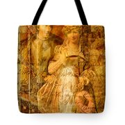 Beatrice And Benedick Tote Bag