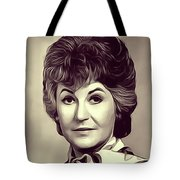 Beatrice Arthur, Vintage Actress Tote Bag