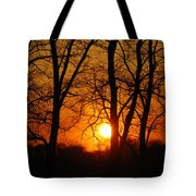 Beauatiful Red Sunset Tote Bag