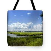 Beaufort Intracoastal Waterway Tote Bag