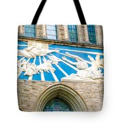 Beauiful Church Design In New York City Tote Bag