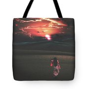 Beauties Of The Desert At Sunset Tote Bag