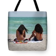 Beauties On The Beach Tote Bag