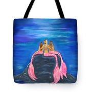 Beauties On The Rock Tote Bag