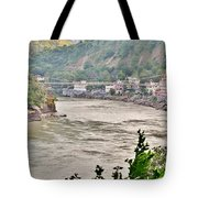 Beautiful Afternoon On The Ganges Tote Bag