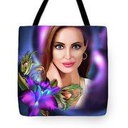 Beautiful Angie Tote Bag