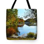 Willow Pond, Caleb Smith Preserve Tote Bag