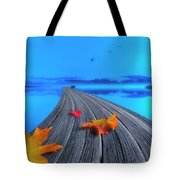 Beautiful Autumn Morning Tote Bag