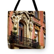 Beautiful Balcony In Austria Tote Bag