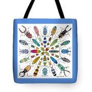 Beautiful Beetles Tote Bag