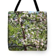 Beautiful Blossoms - Digital Art Tote Bag by Carol Groenen