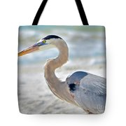 Beautiful Blue On The Beach Tote Bag