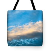 Beautiful Blue Skies Tote Bag