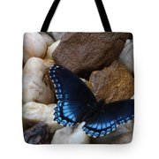 Beautiful Blue Swallowtail Tote Bag