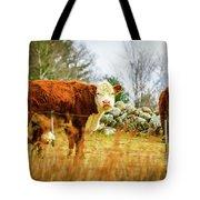 Beautiful Bovine 2 Tote Bag
