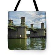 Beautiful Bridge Of Lions Tote Bag